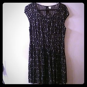 H&M Divided punk safety pin dress 10